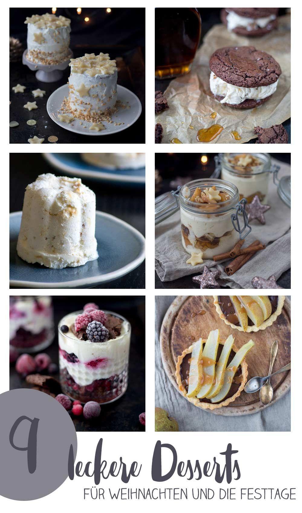 9 leckere desserts f r weihnachten nachtischrezepte f r. Black Bedroom Furniture Sets. Home Design Ideas