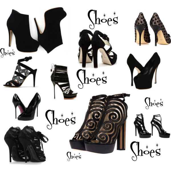 Shoes, created by sclark11 on Polyvore