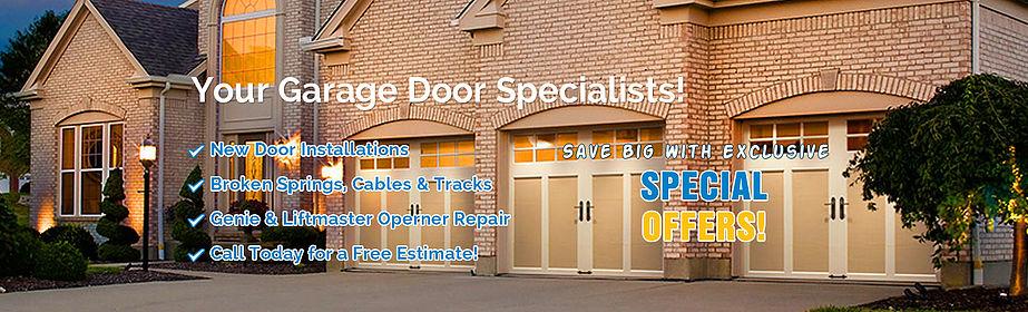 Garage Door Springs Counterbalance The Weight Of The Door To Make It Easy To Open And Close Th Garage Door Installation Garage Door Spring Repair Garage Doors