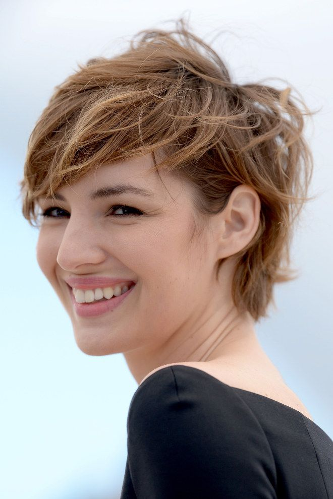 La coupe garçonne sauvage | Court | Pinterest | Haircuts, Short hair and Hair cuts