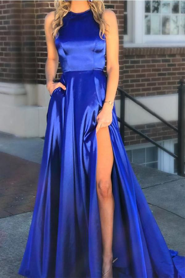 adef88a99ee Hot Sale Magnificent High Neck Prom Dress