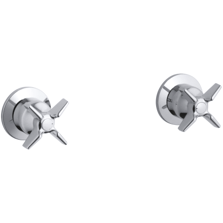 Kohler K T7744 3 With Images Polished Chrome Faucet Handles