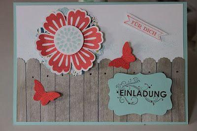 Country-Cottage: Einladungskarten für Kindergeburtstag und romantische Vintage Karten