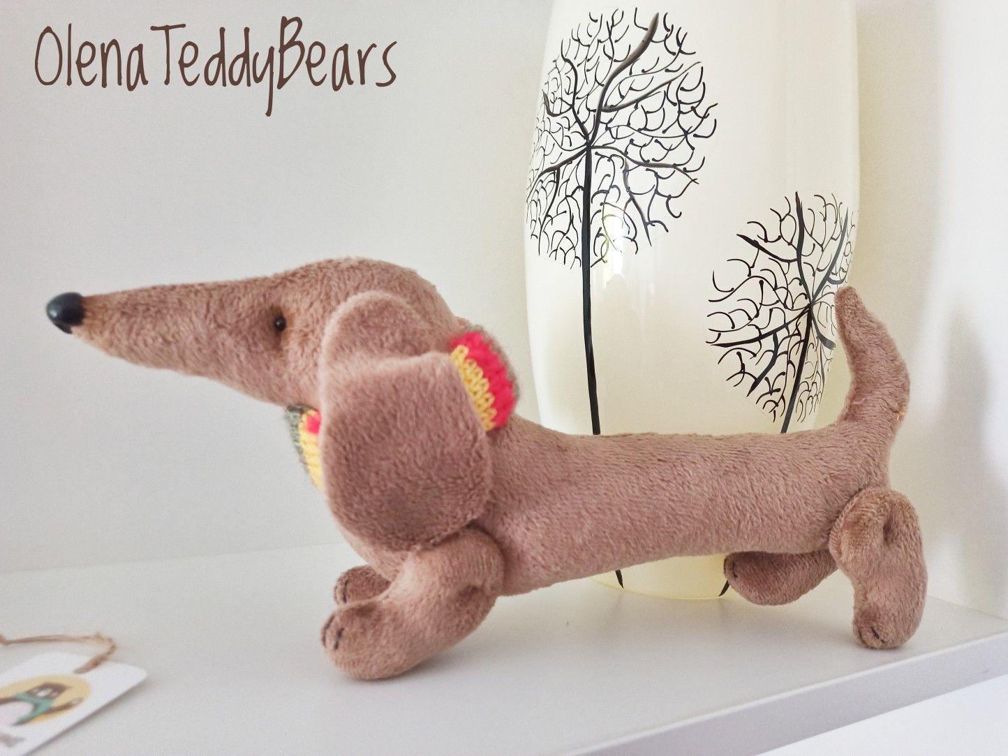 Stuffed Animal Dog Dog Plush Dachshund Dog Toy Puppy Plush Etsy Toy Puppies Handmade Plush Dachshund Dog [ 1083 x 1444 Pixel ]