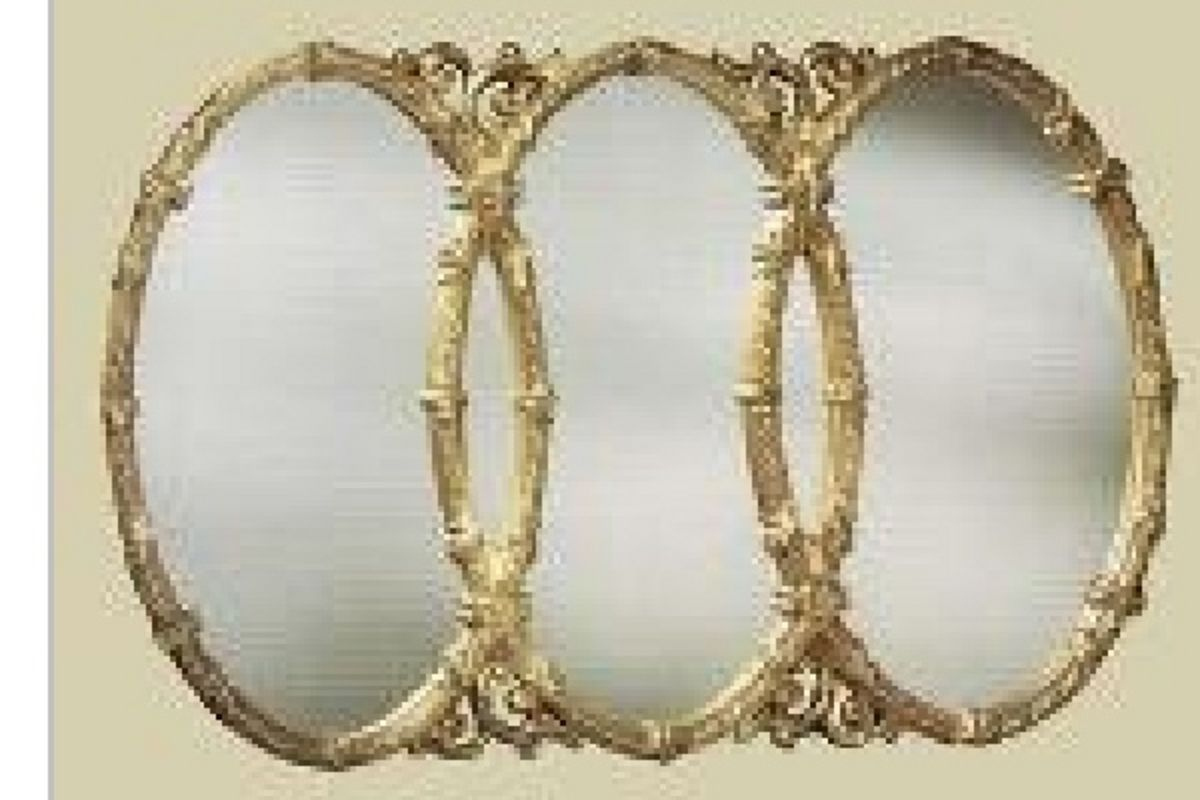 Triple oval wall mirror drrw pinterest mirror