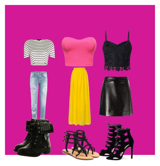 """""""Untitled #19"""" by janae-favors on Polyvore featuring Alexander Wang, Lipsy, Dsquared2, MICHAEL Michael Kors, Mystique and Refresh"""
