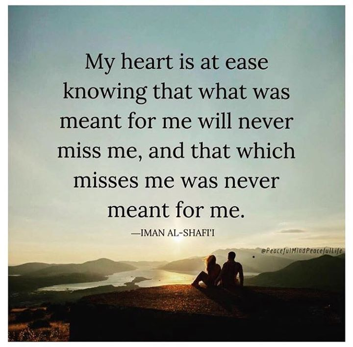 My Heart Is At Ease Best Positive Quotes Positive Quotes My Life Quotes