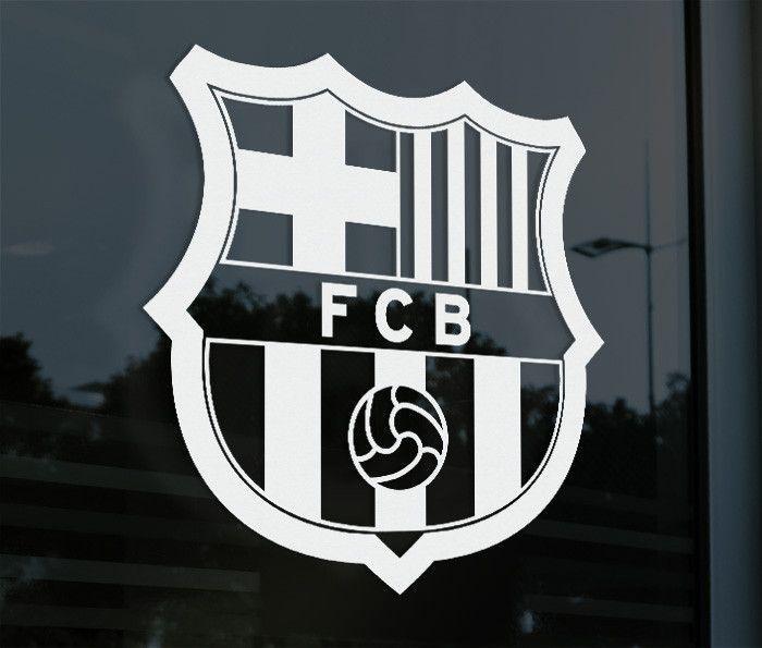 Fc barcelona spain barca decal sticker pegatina