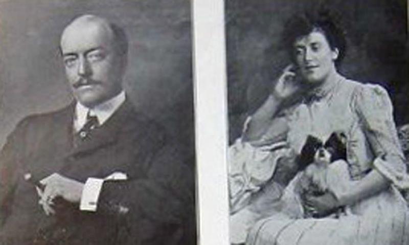 Mr and Mrs Ronald Greville. Ha...