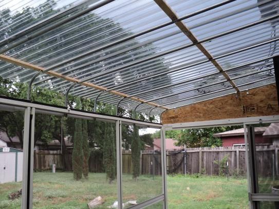 Suntuf 26 In X 8 Ft Solar Gray Polycarbonate Corrugated Roof Panel 101929 The Home Depot Pergola Roof Panels Corrugated Roofing