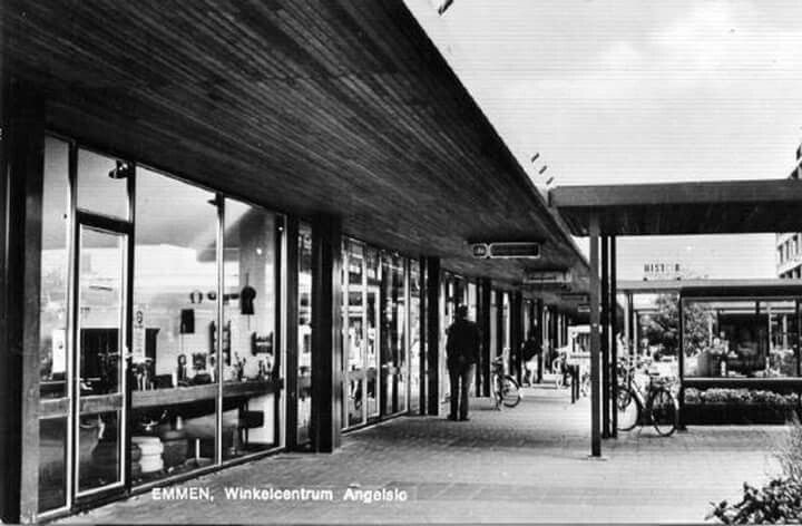 Winkelcentrum Angelslo Nederland Oude Foto S Foto