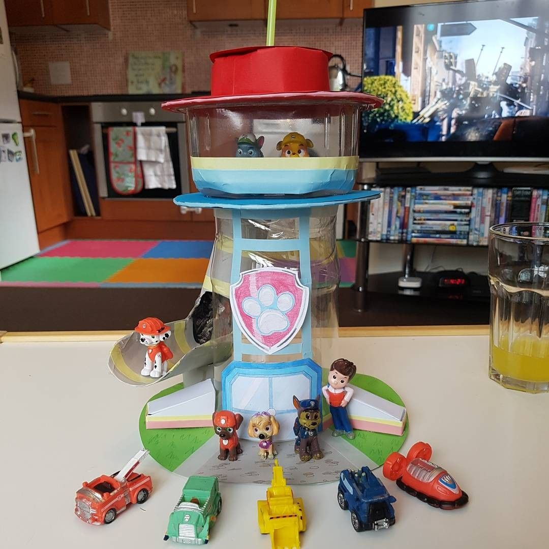 I Made My Two Year Old A Paw Patrol Tower As She Loves The Show So