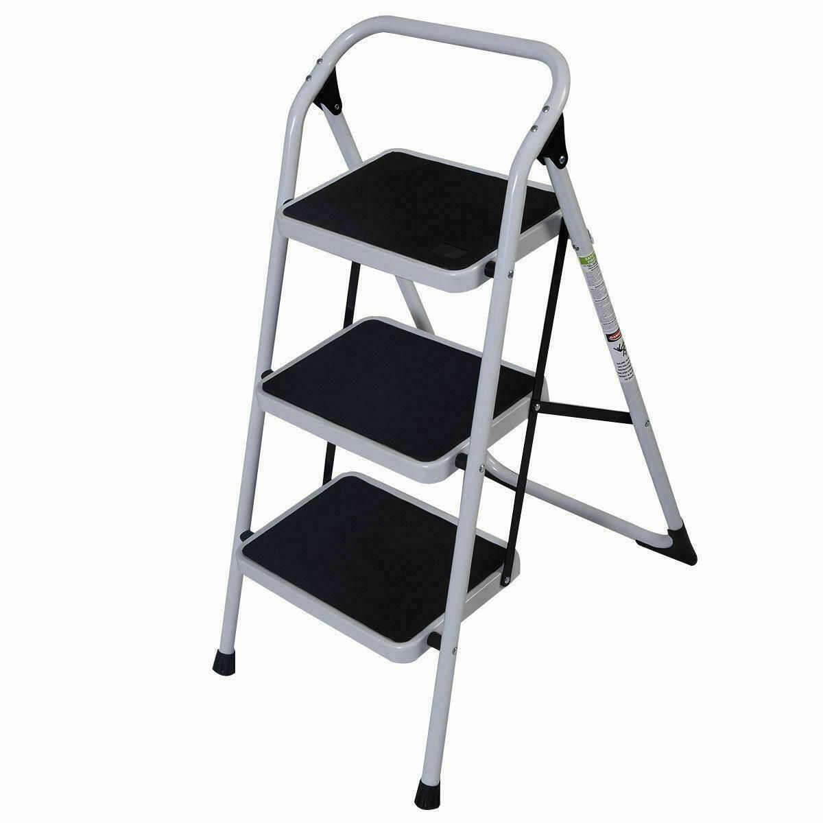 52fa27538d0d29532bd45db998d0224c - Step Ladder 3 Step Folding Non-slip - work-from-home