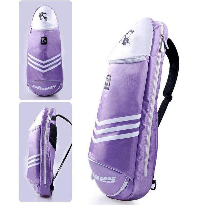 Portable Badminton Racket Bag Tennis Backpack Men Badminton Crossbody Bag Sports Single Shoulder For 6 Rackets Gym Racke With Images Badminton Bag Swimming Bag Sport Bag