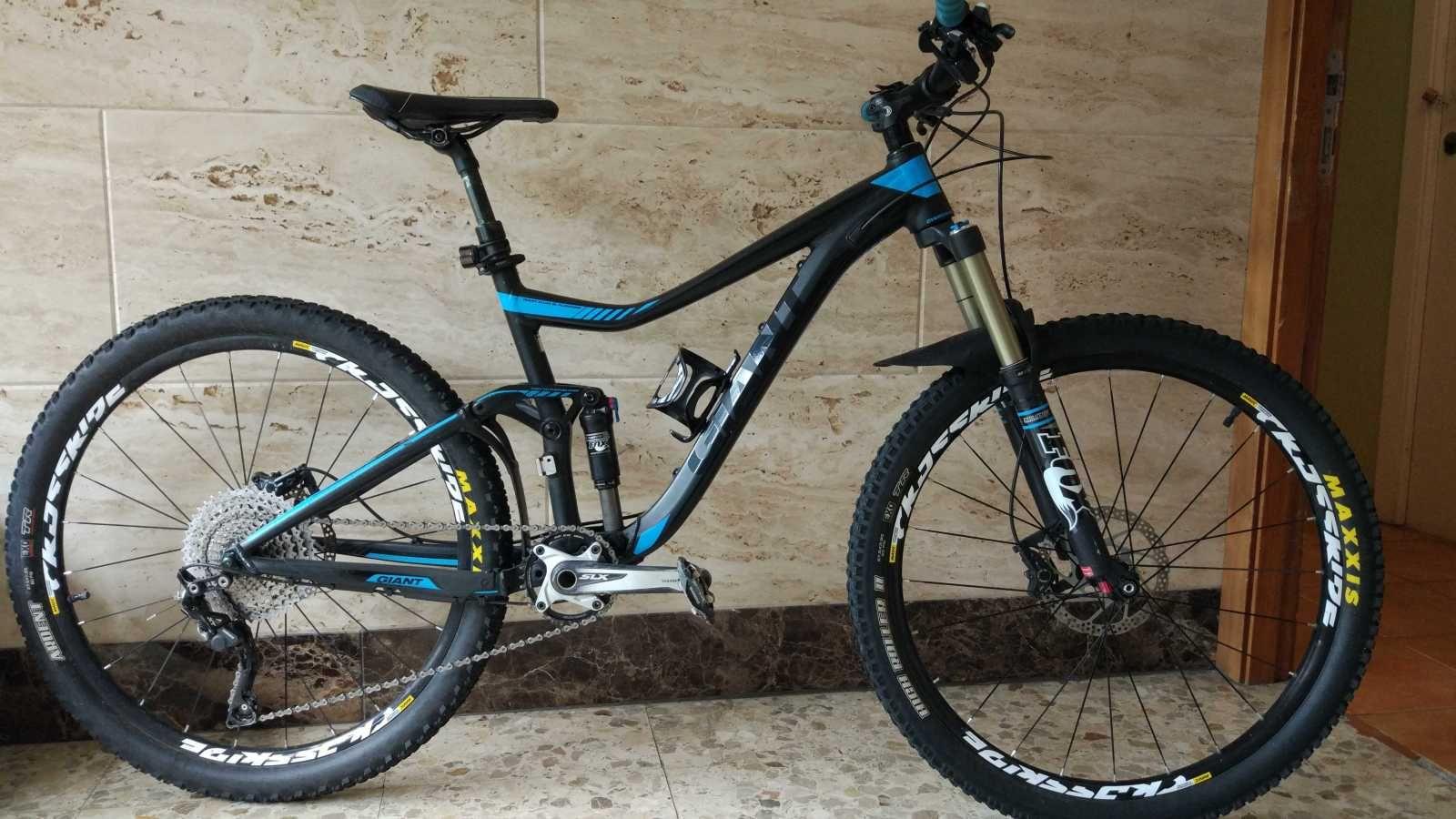 Bicicleta De Montaña Giant Trance Ref 40130 Talla M Año 2015 Cambio Shimano Deore Xt Cuadro De Alum Bicicletas Bicicletas De Montaña Giant Bicicletas Mtb