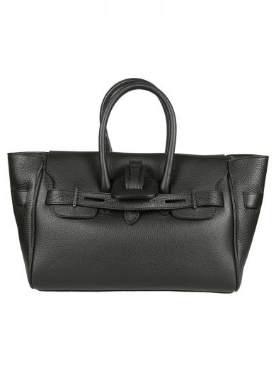 "GOLDEN GOOSE Black ""Pauline"" Tote. #goldengoose #bags #leather #hand bags #tote #"