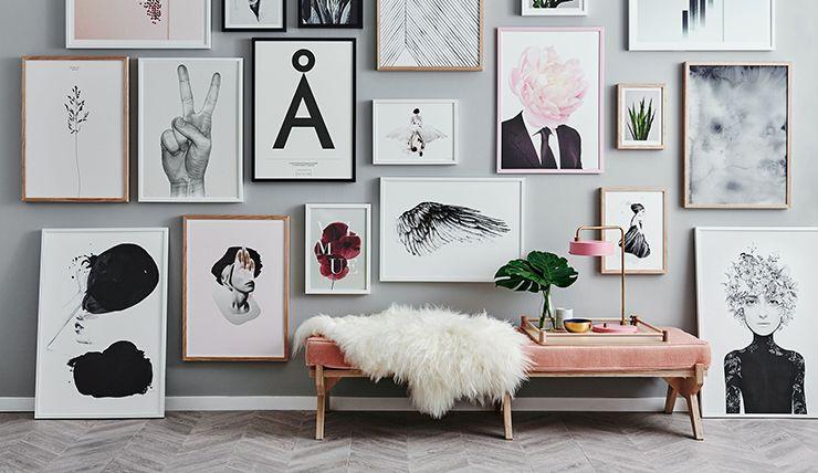 Galerie In Huis : Zo creëer je je eigen galerie in huis decoration living rooms