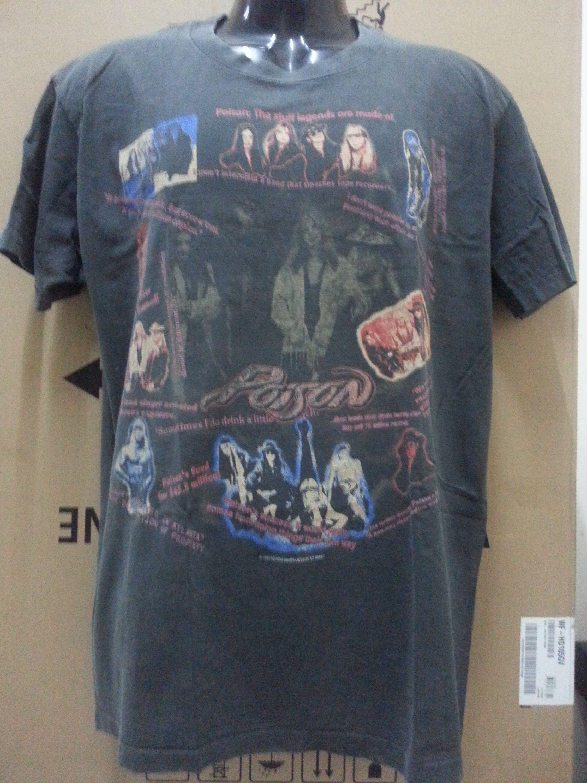 COLD!!! POISON Vintage!!! Native Tongue World Tour 1993