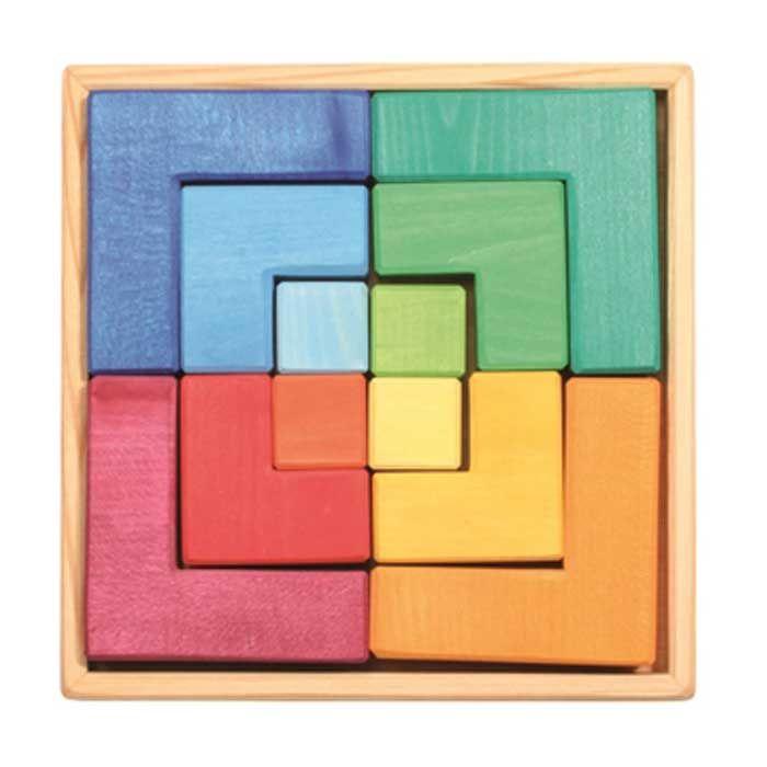 Puzzle mil formas - juguetes creativos de madera