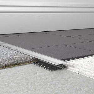Transition Piece Tile To Carpet Carpet To Tile Transition Carpet Installation Carpet Tiles
