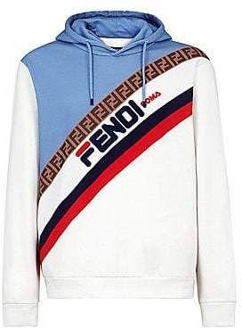 6fd336fe Fendi Men's Mania Colorblock Stripe Sweatshirt in 2019 | Products ...