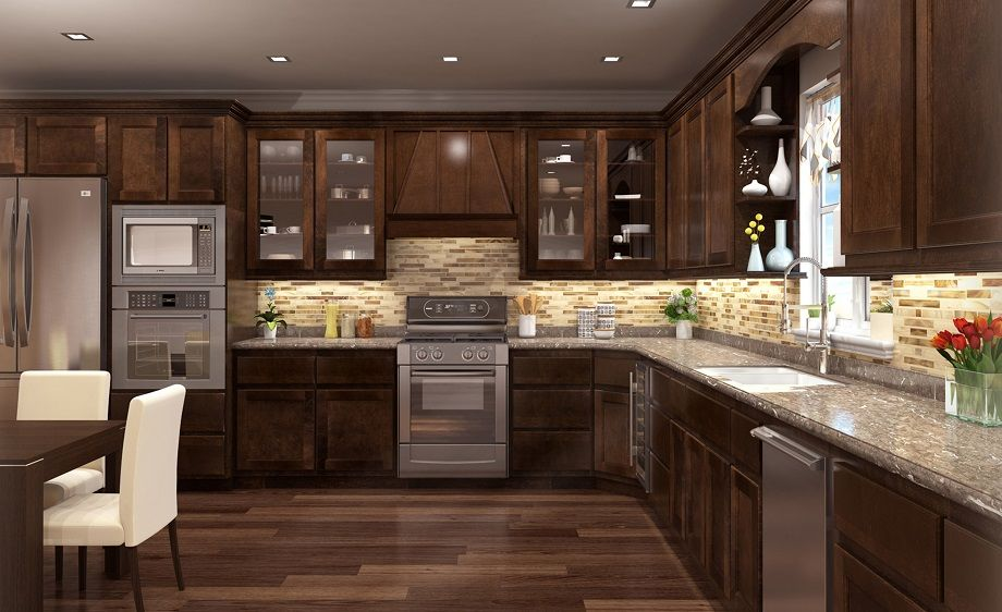 Ridgefield Cubiccino Gallery Traditional Kitchen Cabinets