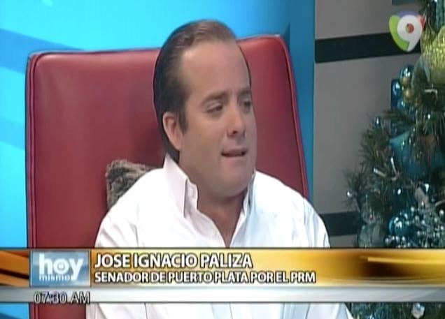 Entrevista Al Senador De Puerto Plata Jose Paliza