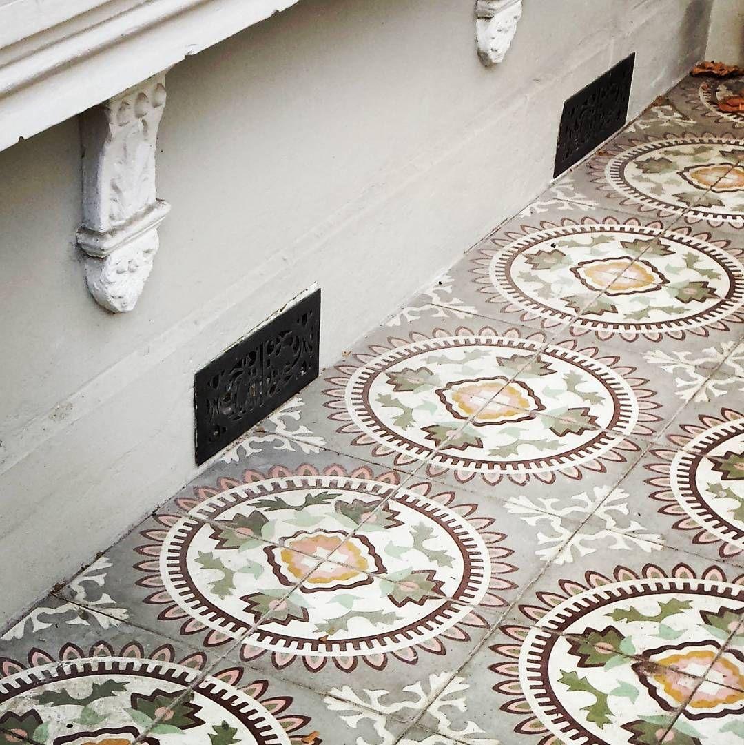 Federation Tiled Verandah Tiles Mosaic Floor Xploresydney Sydneylocal Sydney Insta Spottedinsydney Addicted To Details Great Captures Australia