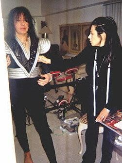 Ace Back Stage Farewell Tour Ace Frehley