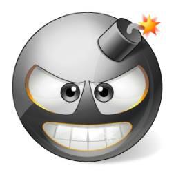 Bomb Smiley Funny Emoji Faces Smiley Emoticon