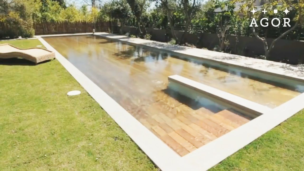 Israeli Engineering Company Agor Has Created A Hidden Adjule Swimming Pool With Moveable Floors The Pools Are Equipped Hydraulics That Ra