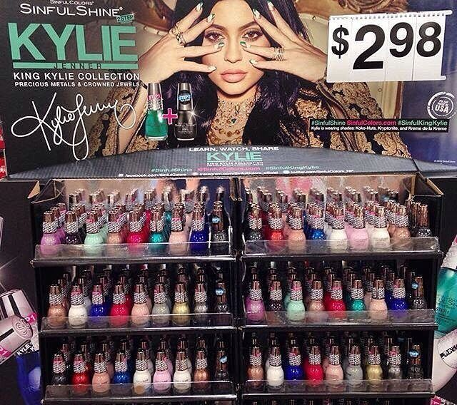 Kylie Jenner Sinful Colors King Kylie collection | Sinful Colors ...