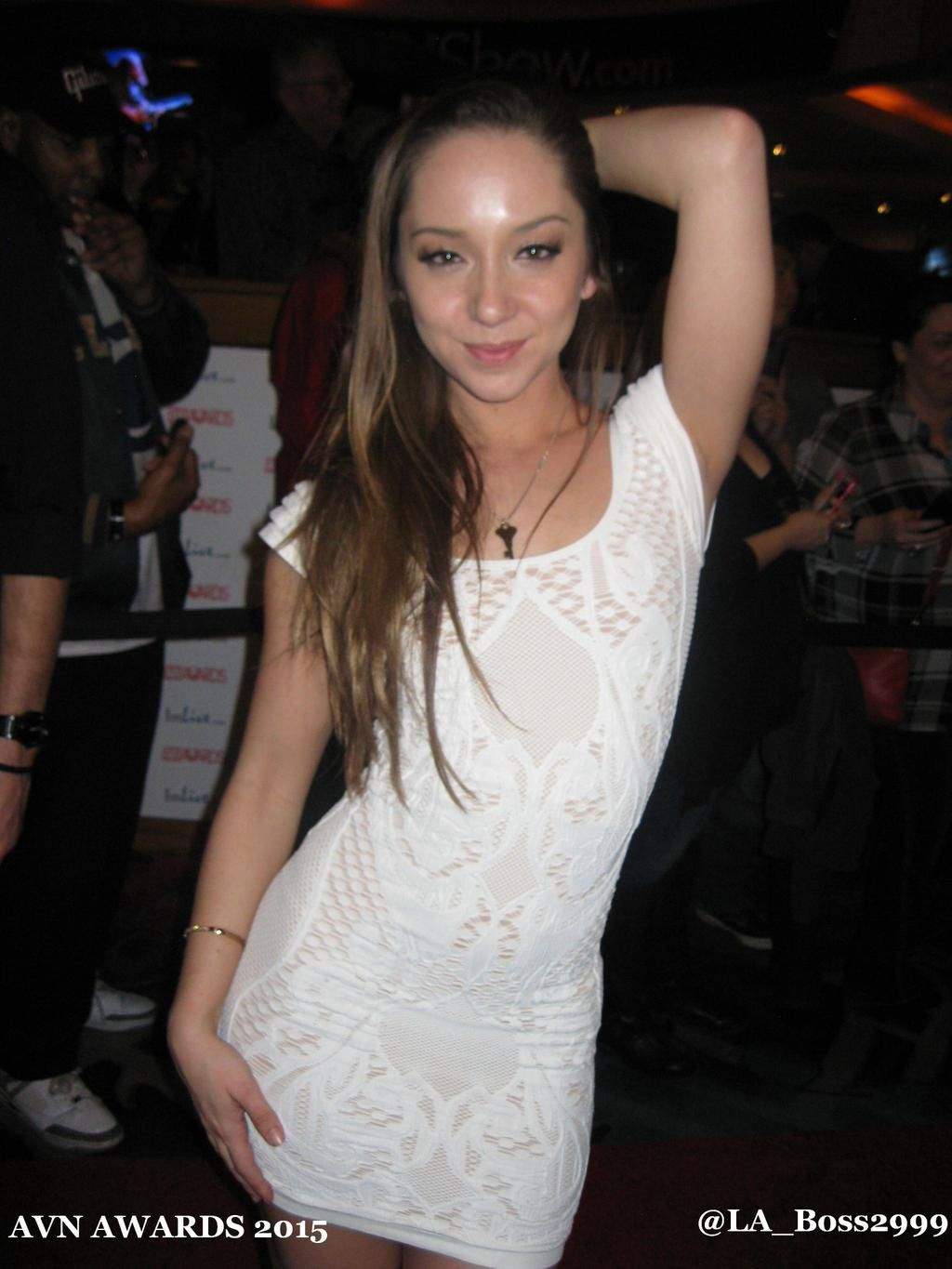 En Lucky Guy eskorterer The Beautiful Remy Lacroix At The-7016