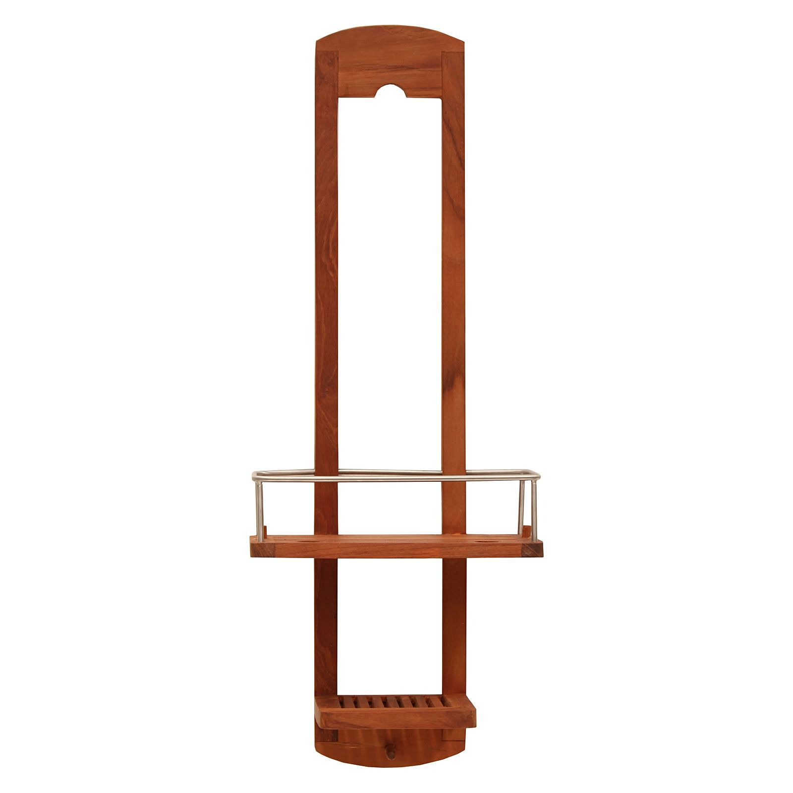 Teak Tall Shower Caddy - http://idealhomechoices.com/products/bed ...