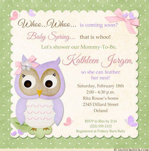 Pastel butterfly owl baby shower invitation wants to see whoo is coming soon! Fresh polka dot patterns, custom colors & cute butterfly, owl & birdie graphic