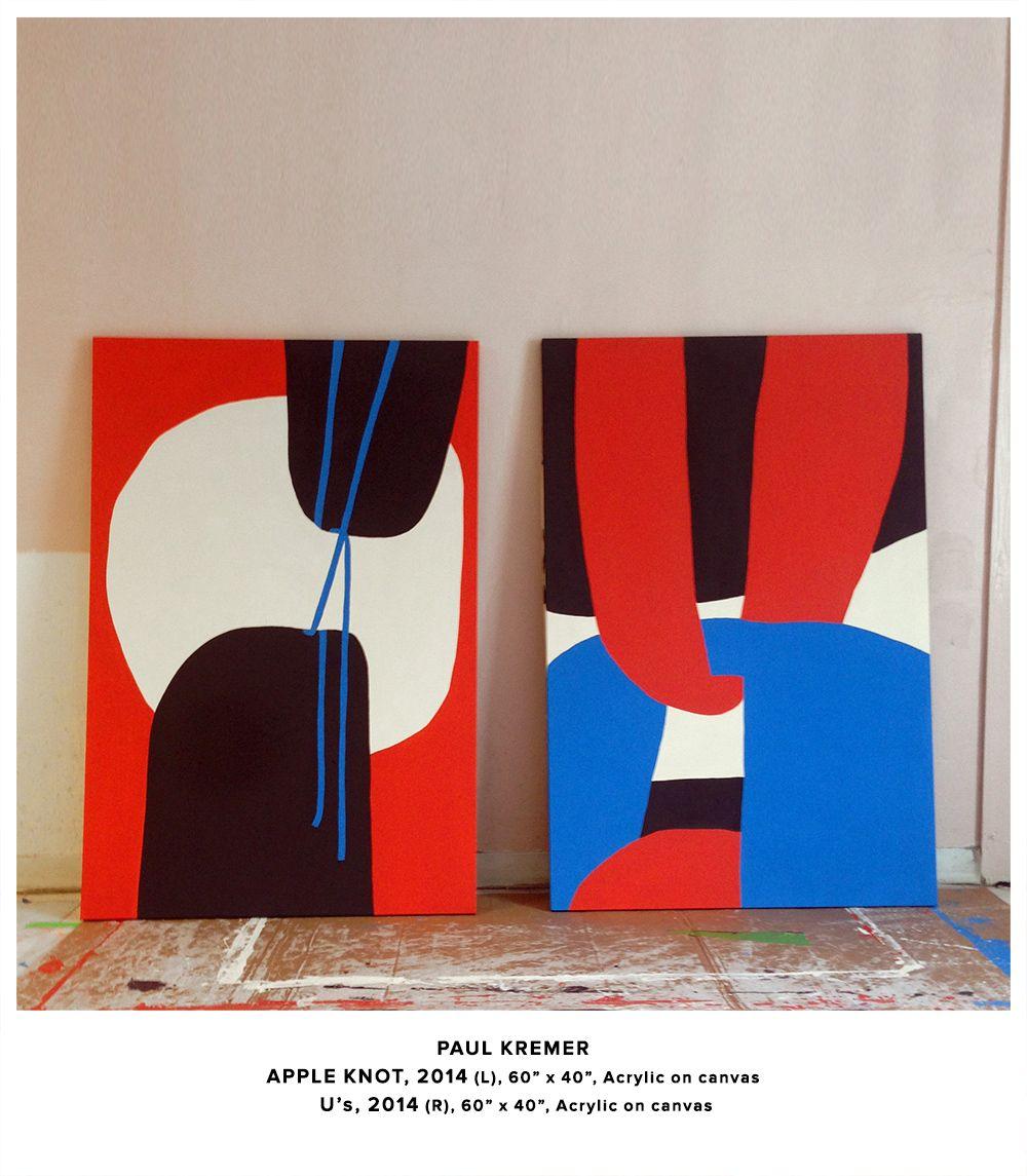 Paul Kremer Fan Untitled Miami 2014. Bold Abstract Art In 2019 Abstrakte