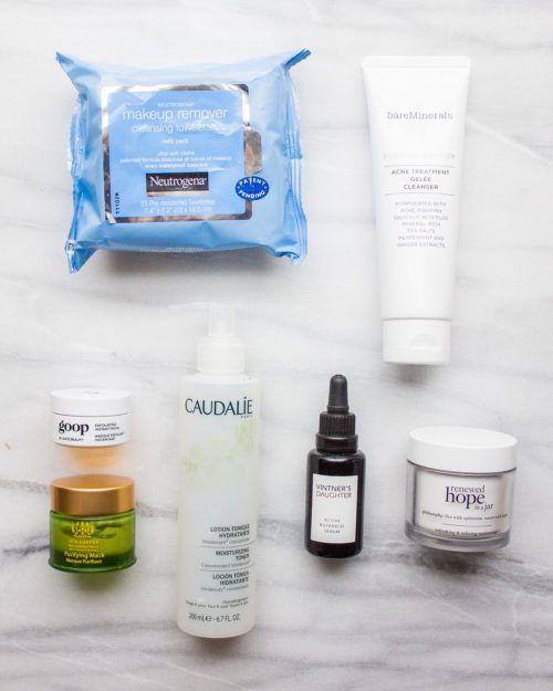 My Nighttime Skincare Routine Night Time Skin Care Routine Bare