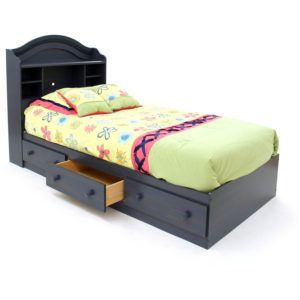 twin platform bed with drawers. South Shore Twin Platform Bed With Storage Drawer Black Drawers