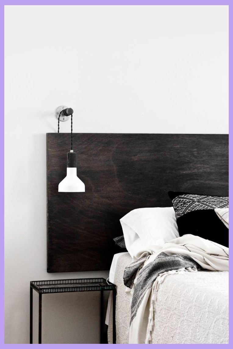 Photo of The Bed Head | Ideas and Inspo (The Design Chaser) | Bedroom Wall Designs Simple | Bedroom Wa…