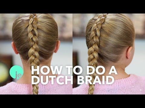 How To Do A Dutch Braid Basic Braids Braided Hairstyles Tutorials Easy Braids Kids Hairstyles