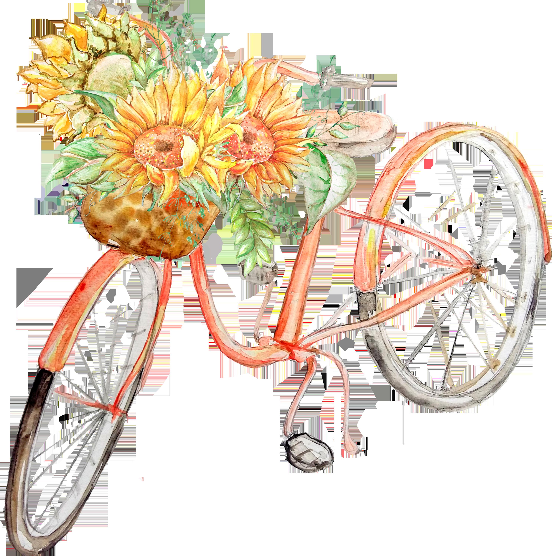 0℃素材14 Clip art, Sunflower, Garden party