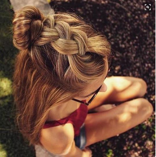 Le chignon tressé #coiffure