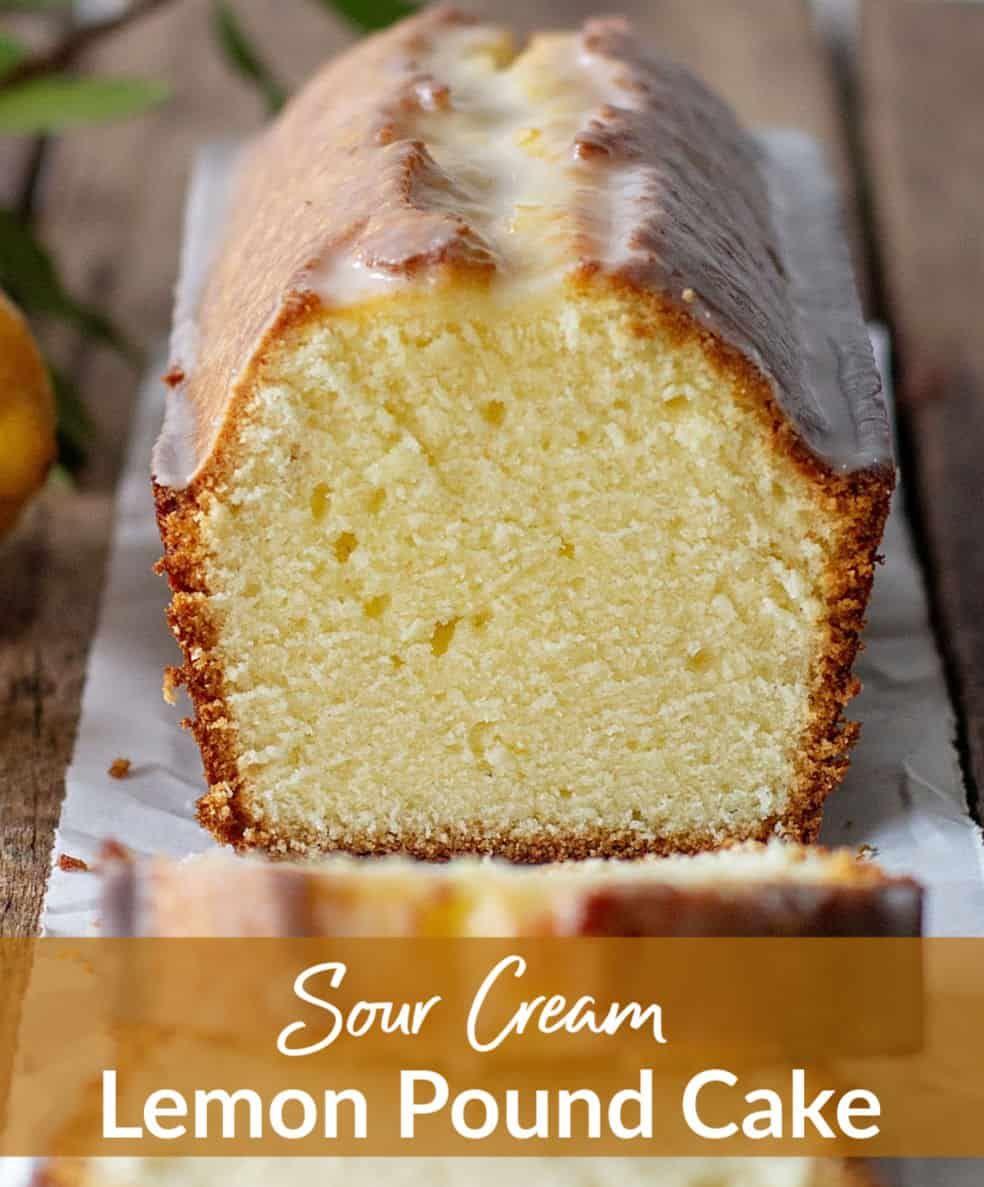 Lemon Sour Cream Pound Cake Recipe In 2020 Lemon Pound Cake Recipe Sour Cream Pound Cake Lemon Recipes
