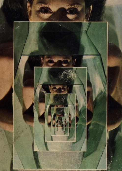 Tantos espejos, tantos ojos tantos insultos en forma de diagnostico. ...O la ilusion del orgullo cayendo en cascada. Juegos de mente Ilusiones Espejos