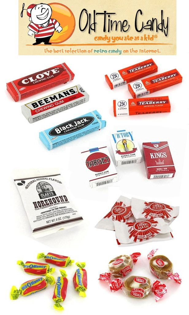 14++ Old fashioned candy names information