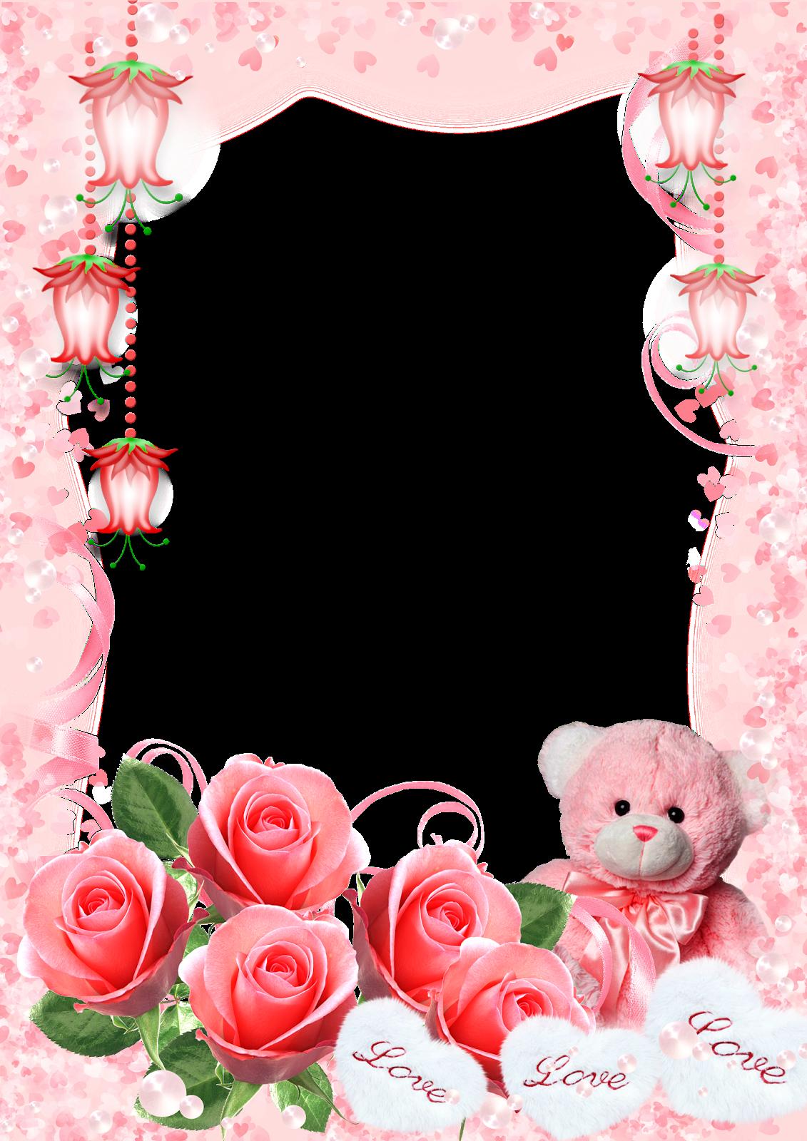 Cosas Mias Marcos Para San Valentin Png Valentines Frame Floral