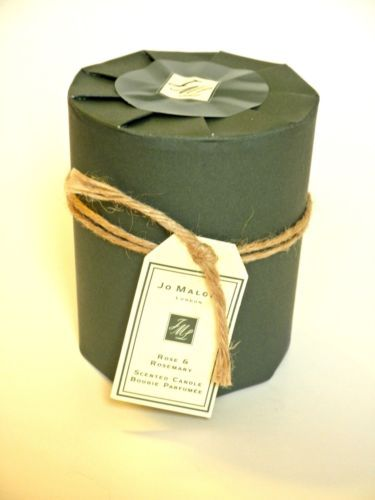 Jo Malone Rose and Rosemary Scented Candle Bougie Parfumee