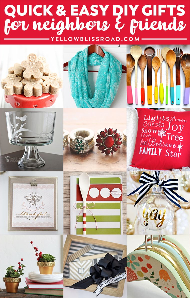 35 Gift Ideas for Neighbors and Friends | Homemade Gifts | Pinterest ...