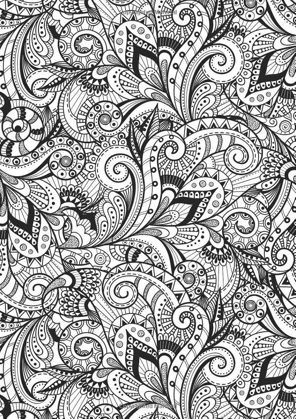 Creative Therapy An Anti Stress Coloring Book Hannah Davies Richard Merritt Jo Taylor 9 Anti Stress Coloring Book Stress Coloring Book Antistress Coloring