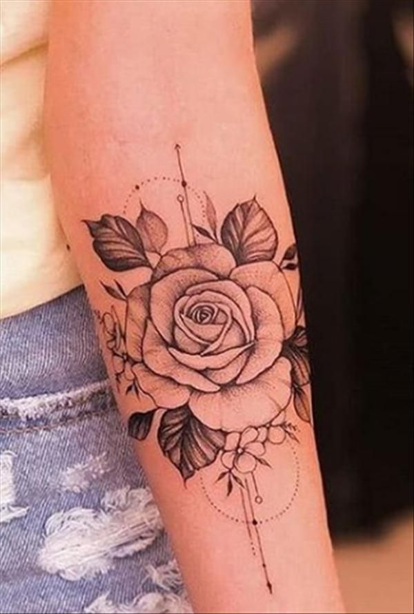 Girl's Favorite Rose Tattoo Get To Know? - Latest Fashion Trends for Girls